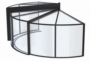 photo spa veranda circulaire ouverture panoramique. Black Bedroom Furniture Sets. Home Design Ideas