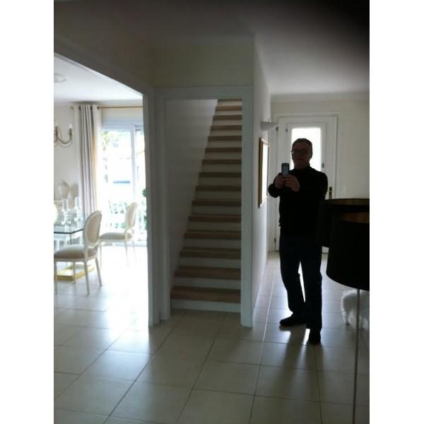 recouvrement escalier bois d 233 cor ch 234 ne blanchi 69230 st genis laval