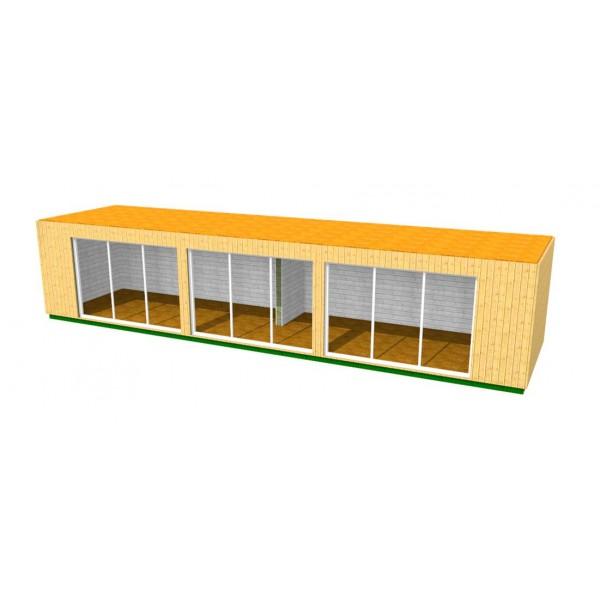 Atelier container sur mesure artistes 93300 la villette 36m - Achat maison container ...