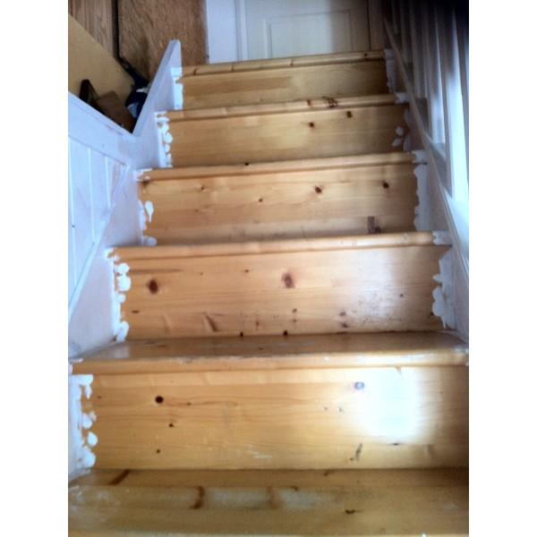 Habillage Escalier Ouvert En Bois D Cor Ardoise 69280