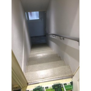 habiller escalier b ton finition ardoise 42610 st georges haute ville. Black Bedroom Furniture Sets. Home Design Ideas