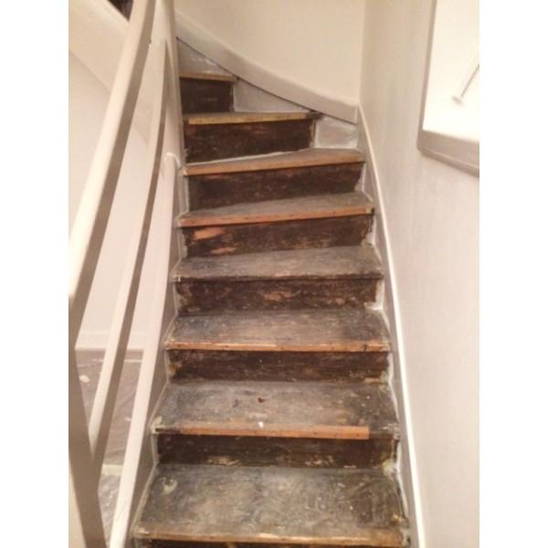 habillage ch ne escalier 69003 lyon. Black Bedroom Furniture Sets. Home Design Ideas