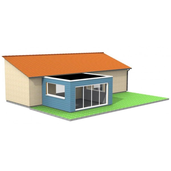 V randa en bois standard ou sur mesure lyon for Achat box garage lyon