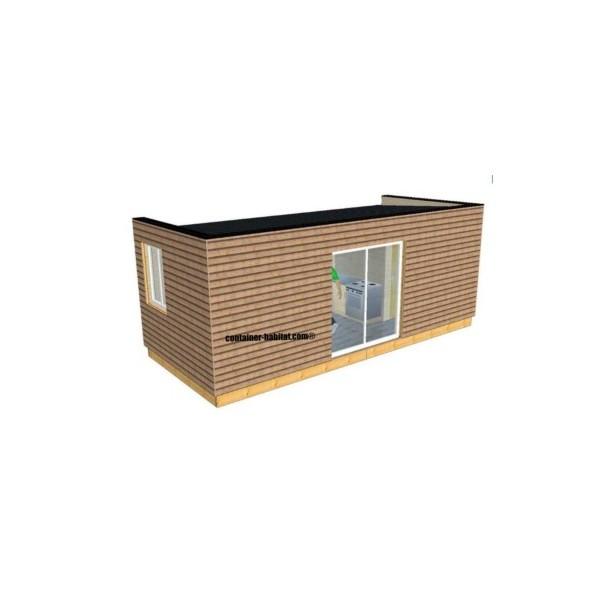 Maison container 42m2 - Fabricant maison container ...