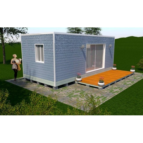 Maison container 21m2 for Prix de container