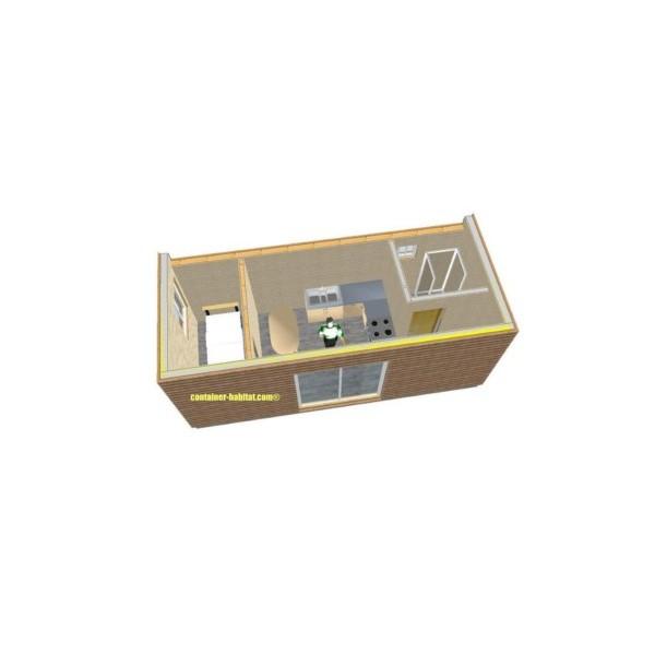 Maison Container 21m2