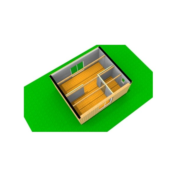 Laboratoire container 42m2 - Achat maison container ...