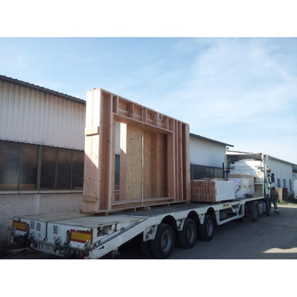 R ception container 42m2 toulon for Container bureau prix
