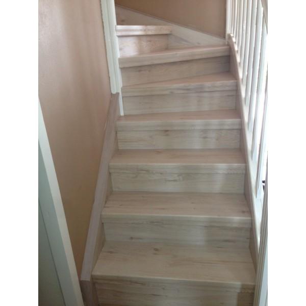 habillage escalier bois d 233 cor chataignier 69800 st priest