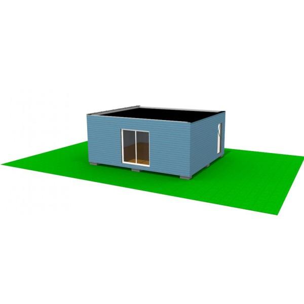 container bureaux r ception 42m2 morzine en haute savoie. Black Bedroom Furniture Sets. Home Design Ideas