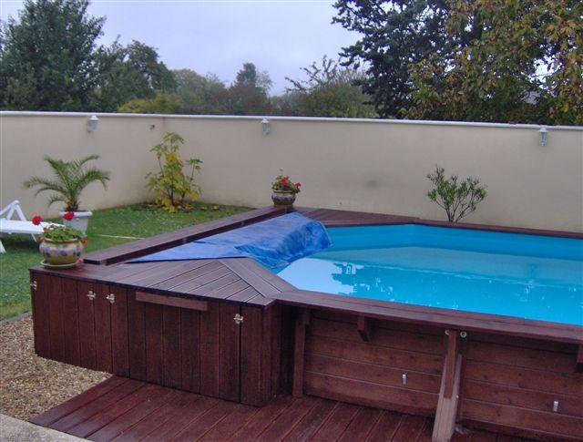 Piscine bois sur mesure for Accessoire piscine bois