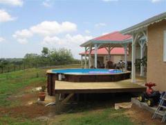 piscine bois guadeloupe