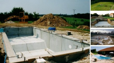 Piscine beton construction et montage devis en ligne for Cout piscine a debordement