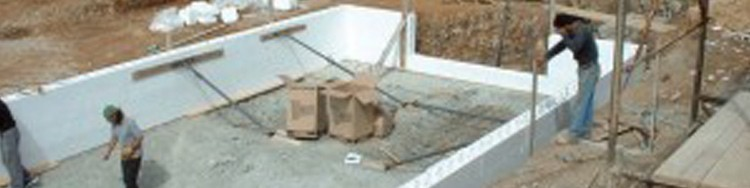 Piscine beton construction et montage devis en ligne for Pieces a sceller piscine beton