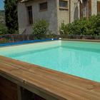 Piscine en bois rectangulaire enterrable bali 5mx3m for Piscine hors sol bois garantie 15 ans