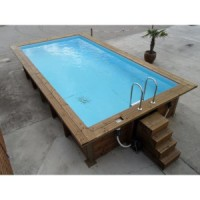 kit piscine rectangulaire en promo