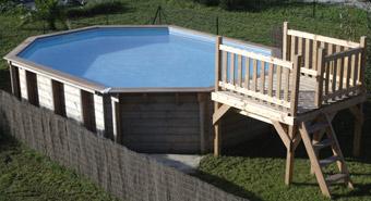 coffre technique en bois pour piscine