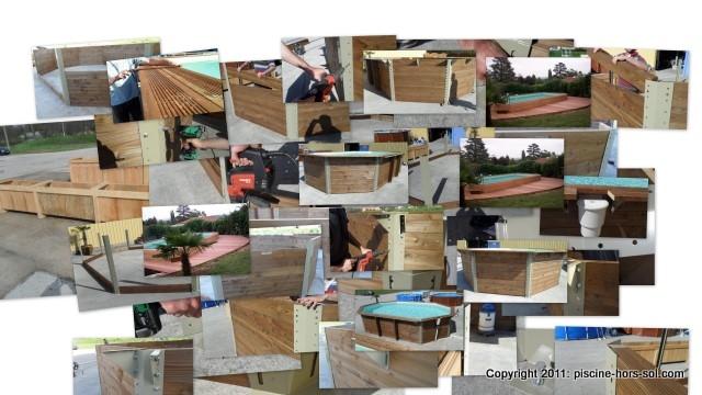 Achat piscines bois ovale 2 995 euros for Montage piscine hors sol acier