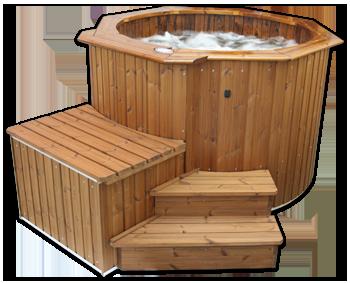 Spa bois hot tubs spas en bois - Prix d un spa exterieur ...