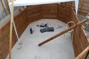 galerie photos montage piscine octogonale monter son. Black Bedroom Furniture Sets. Home Design Ideas