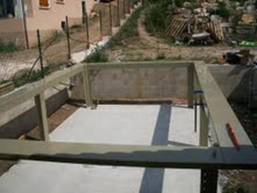 Piscine bois kit enterr e pas cher - Kit terrasse en bois pas cher ...