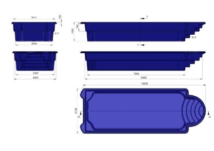 prix piscine coque prix canon 10mx3m70x1m55. Black Bedroom Furniture Sets. Home Design Ideas