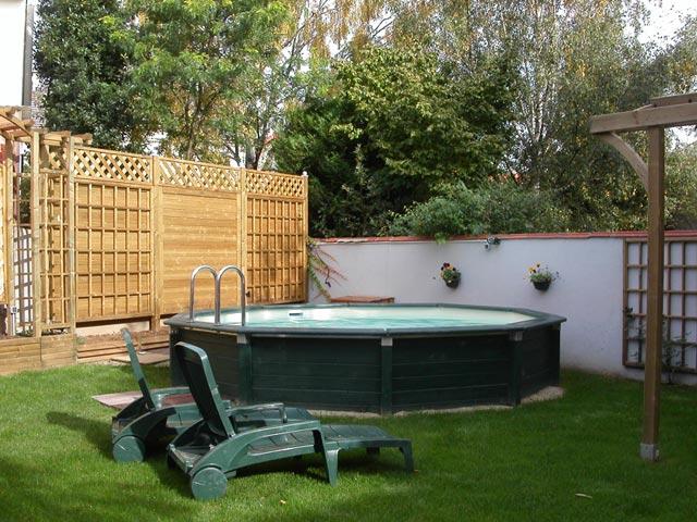photo piscine piscine hors sol bois. Black Bedroom Furniture Sets. Home Design Ideas