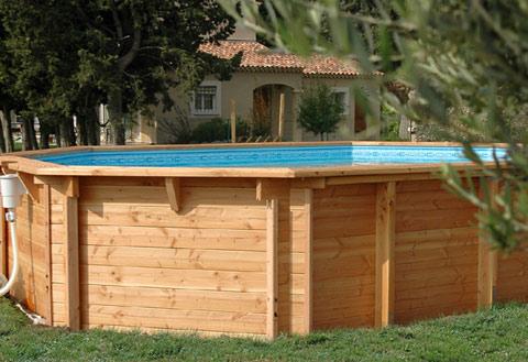 Photo piscine piscine hors sol for Piscine bois 5mx3m