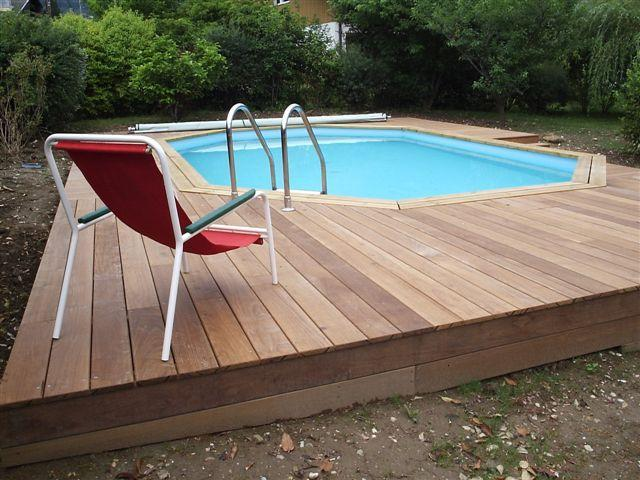 Photo piscine kit piscine en bois enterr for Piscine encastree