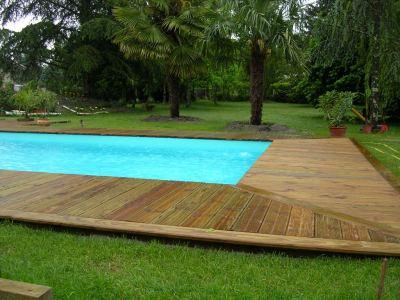 photo piscine piscine bois enterree. Black Bedroom Furniture Sets. Home Design Ideas