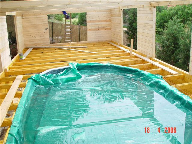 piscine bois espagne