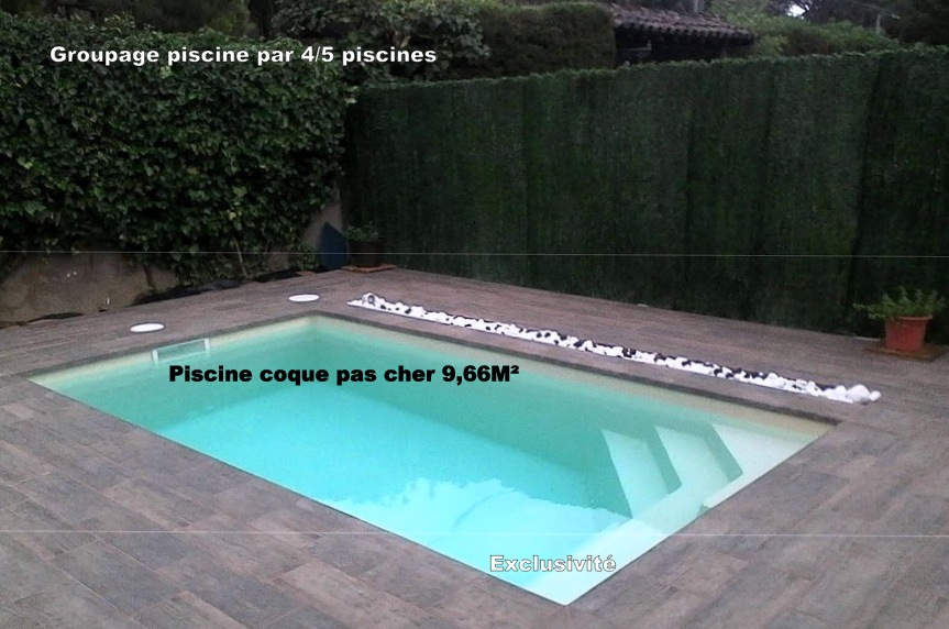 piscine coque discount livraison en groupage. Black Bedroom Furniture Sets. Home Design Ideas
